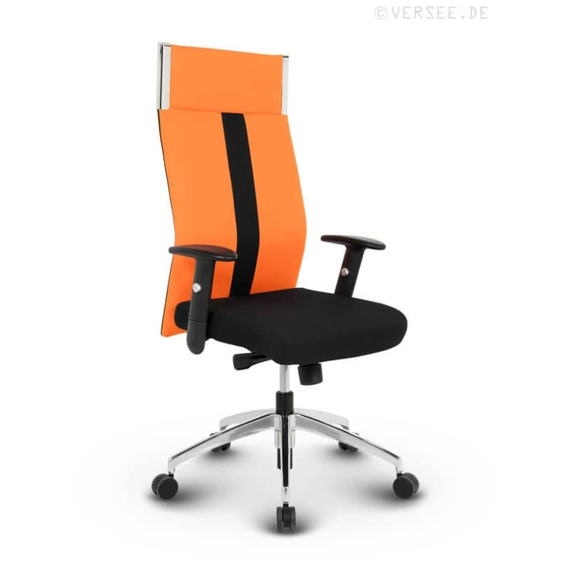 black line high back stoff orange kaufen versee. Black Bedroom Furniture Sets. Home Design Ideas