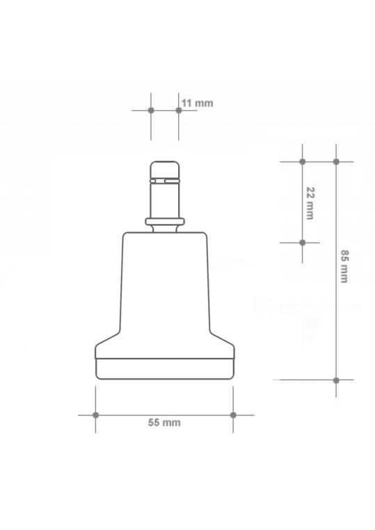 Gleiter inkl. Filz (5 Stk.)