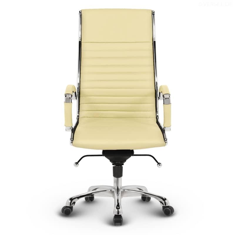 b rostuhl beige leder smartpersoneelsdossier. Black Bedroom Furniture Sets. Home Design Ideas