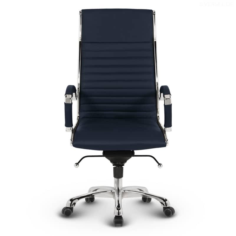 leder design drehstuhl chefsessel b rostuhl montreal braun ebay. Black Bedroom Furniture Sets. Home Design Ideas