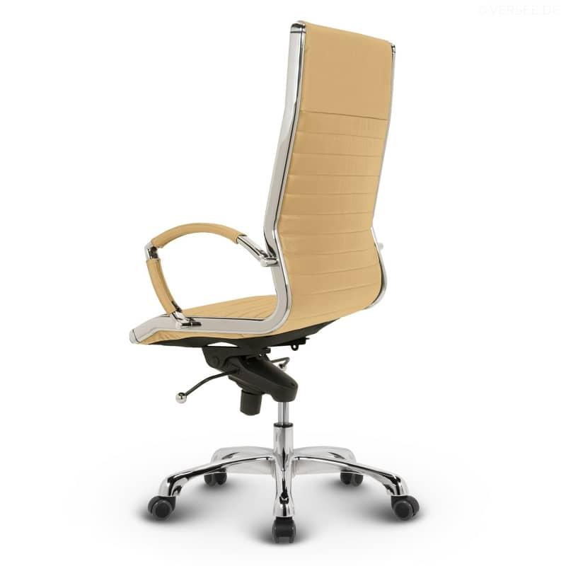 leder design drehstuhl chefsessel b rostuhl montreal schwarz ebay. Black Bedroom Furniture Sets. Home Design Ideas