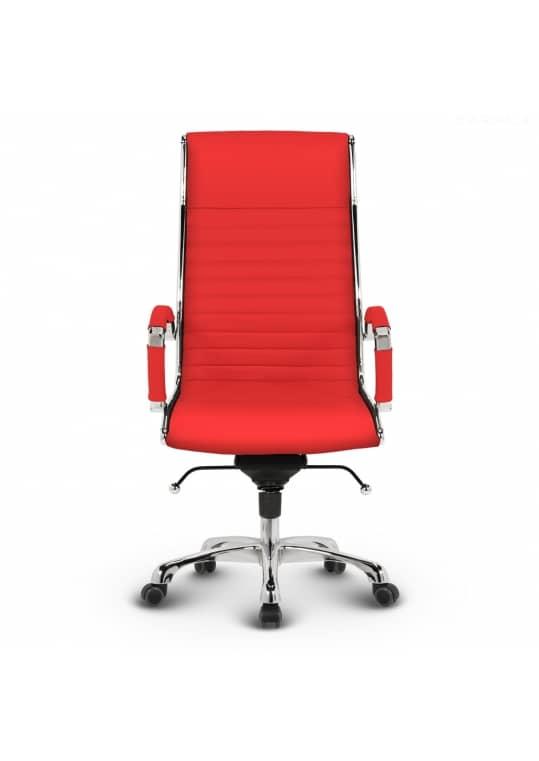 Montreal Design Chefsessel Leder Rot