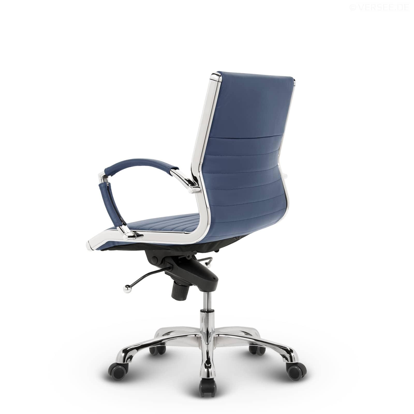 montreal design drehstuhl b rostuhl schreibtischstuhl konferenzstuhl echt leder ebay. Black Bedroom Furniture Sets. Home Design Ideas