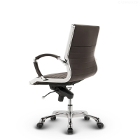 Montreal Design Bürostuhl Leder Braun