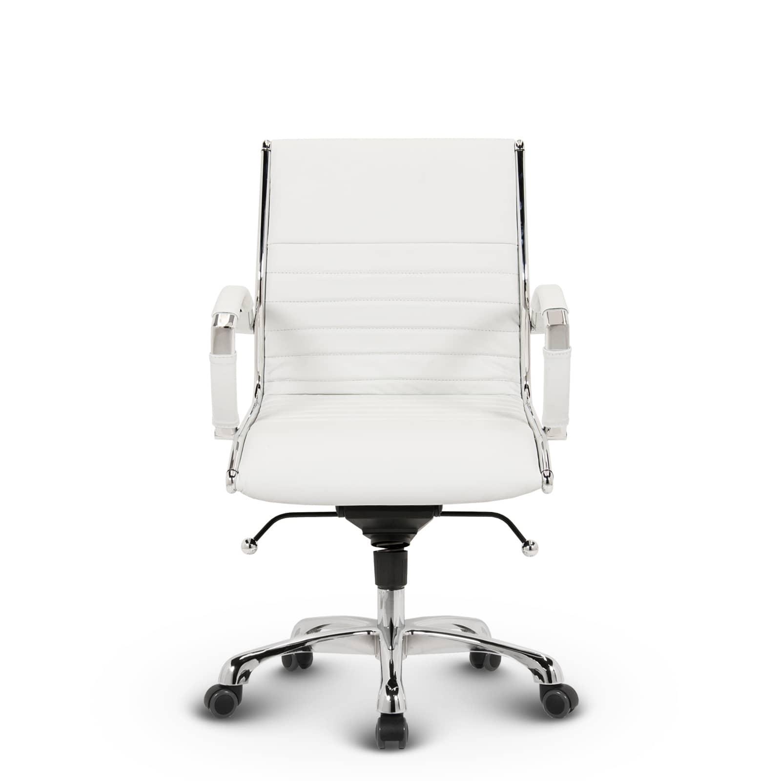 Montreal Design Burostuhl Klassisch Weiss Versee De