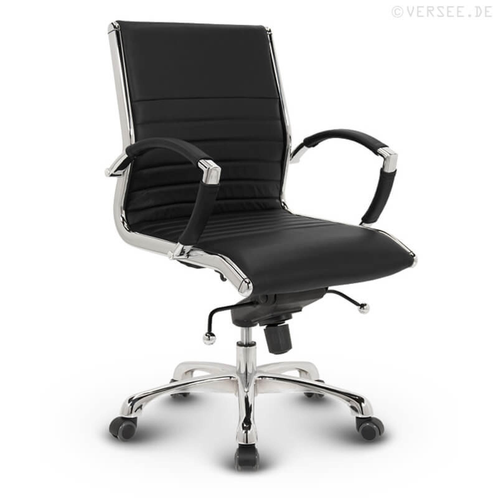 montreal b rostuhl leder schwarz kaufen versee. Black Bedroom Furniture Sets. Home Design Ideas