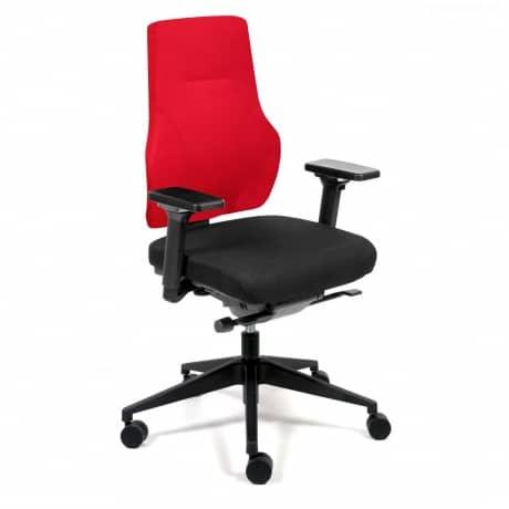 Naros Profi+ Bürostuhl Stoff Rot