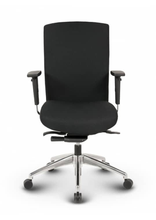 Terox Profi Bürostuhl Stoff Schwarz