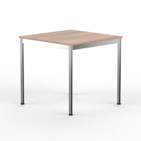 Schreibtisch Konferenztisch 80 x 80cm kirschbaum