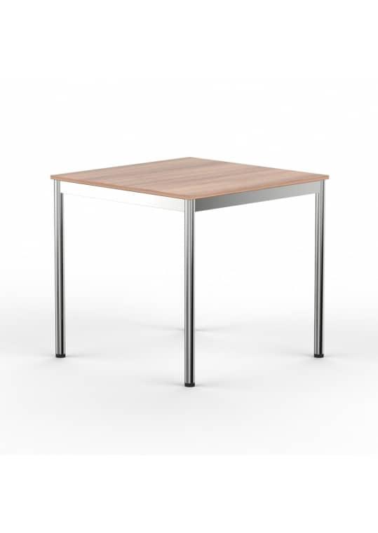 Schreibtisch Konferenztisch 70 x 70cm kirschbaum