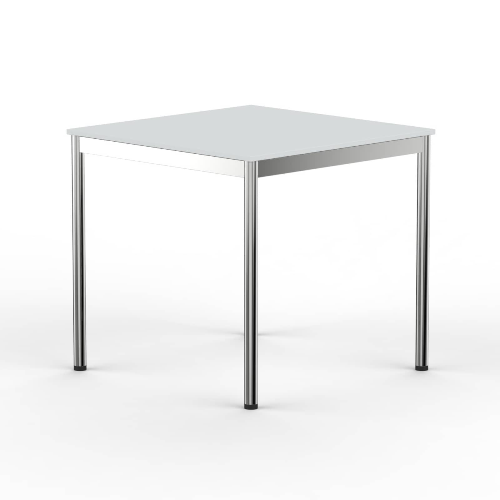 Schreibtisch Konferenztisch 60x60cm Grau Versee