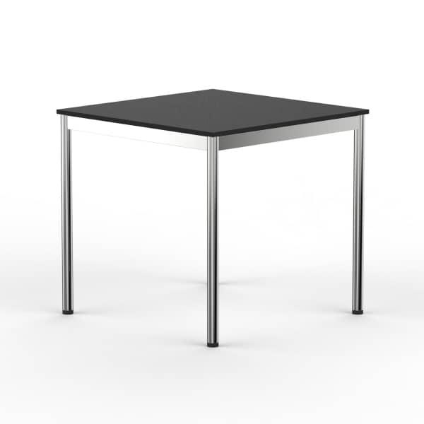 Schreibtisch Konferenztisch 70 x 70cm schwarz