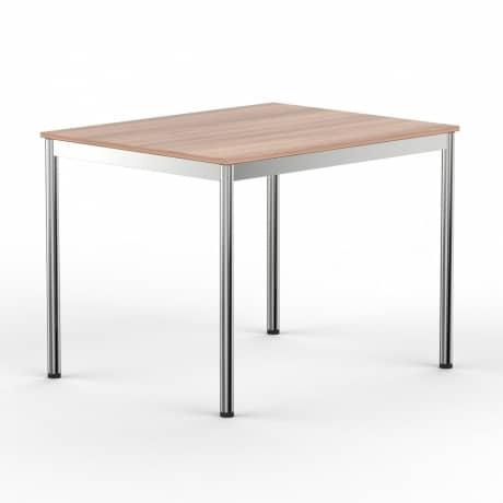 Schreibtisch Konferenztisch 120 x 90cm kirschbaum