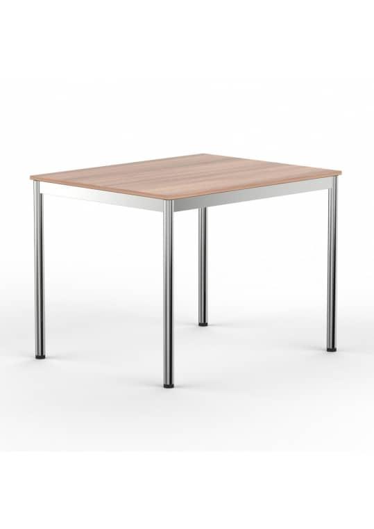 Schreibtisch Konferenztisch 100 x 75cm kirschbaum
