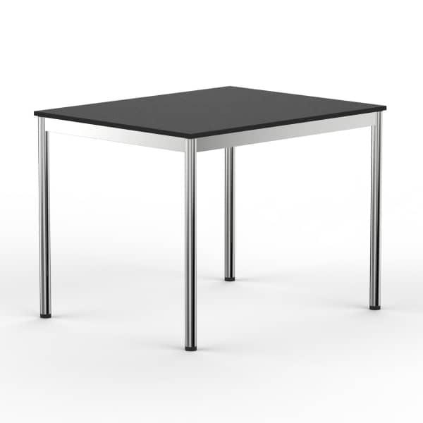 Schreibtisch Konferenztisch 100 x 75cm schwarz