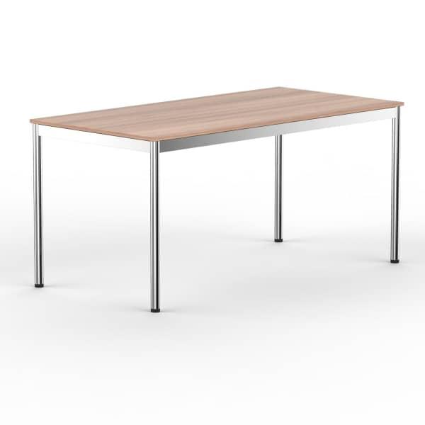 Schreibtisch Konferenztisch 140 x 90cm kirschbaum