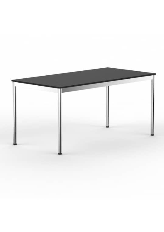 Schreibtisch Konferenztisch 140 x 90cm schwarz