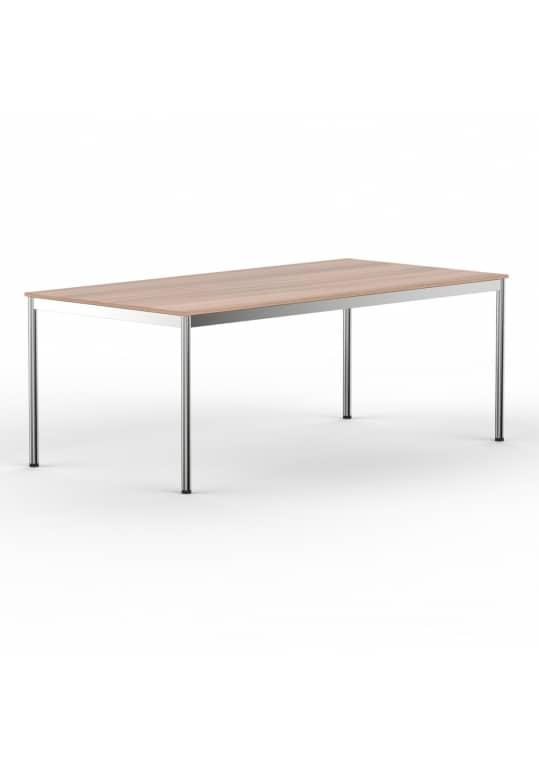 Schreibtisch Konferenztisch 200 x 90cm kirschbaum