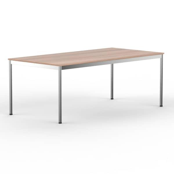 Schreibtisch Konferenztisch 200 x 100cm kirschbaum