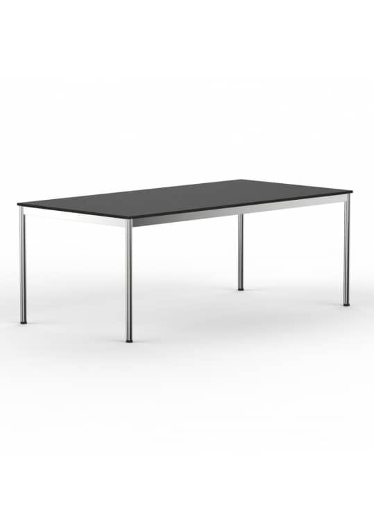 Schreibtisch Konferenztisch 180 x 90cm schwarz