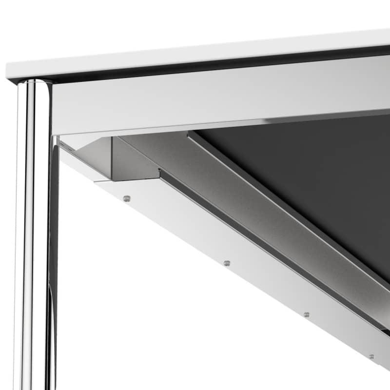 Schreibtisch konferenztisch 160 x 70cm weiss versee for Schreibtisch 70 cm lang