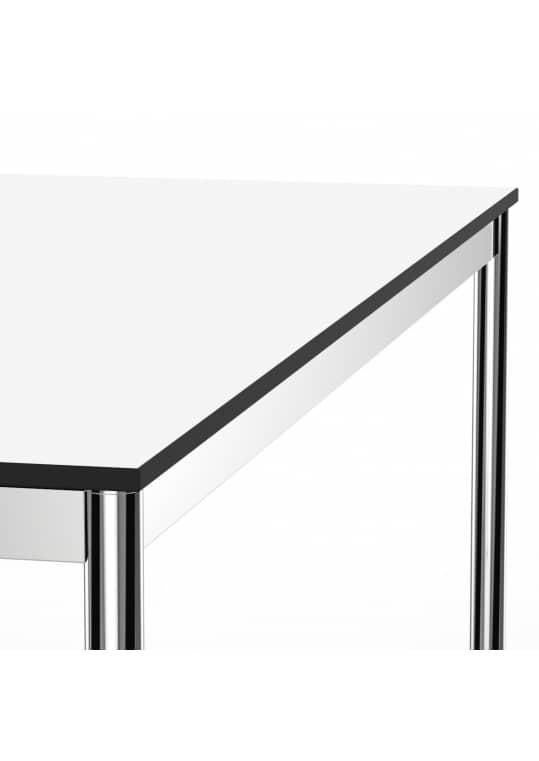Schreibtisch Konferenztisch 160 x 75cm weiss