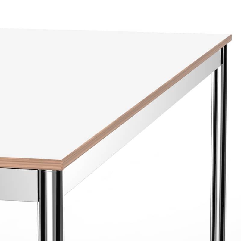 Schreibtisch konferenztisch 160 x 60cm weiss versee for Schreibtisch 60 x 160