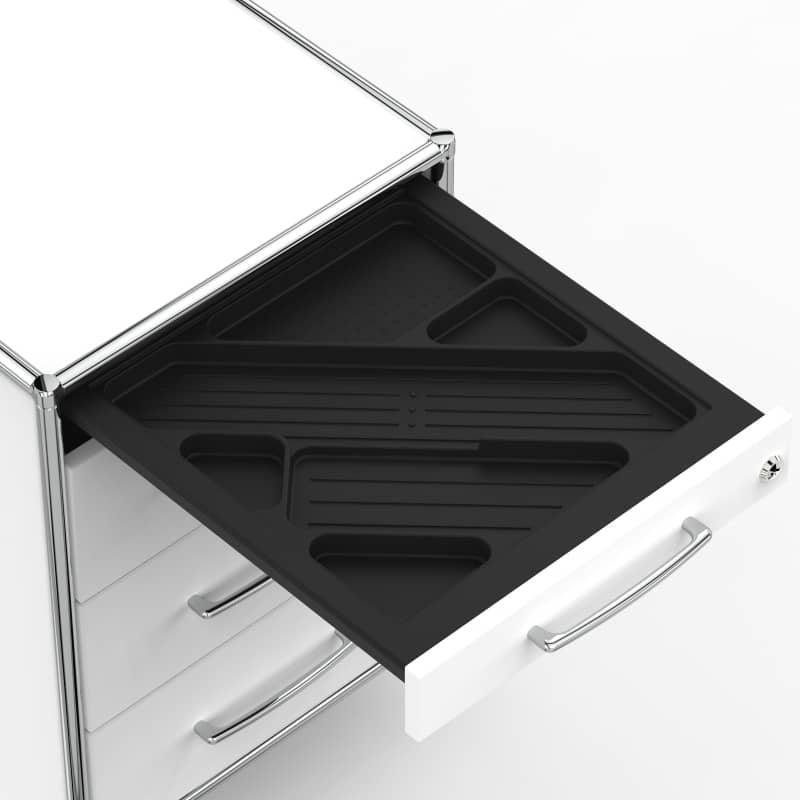 Rollcontainer design hoch  Rollcontainer - Design 80cm - 4 Schubladen ... » VERSEE