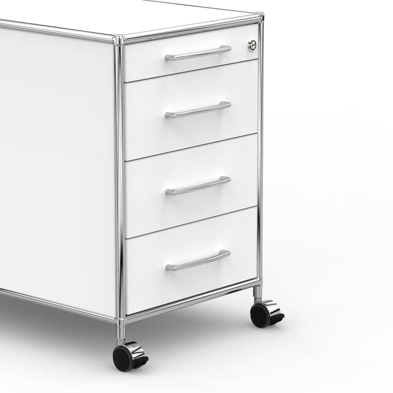 Rollcontainer design hoch  Rollcontainer - Design 80cm - 4 Schubladen ... » VERSEE