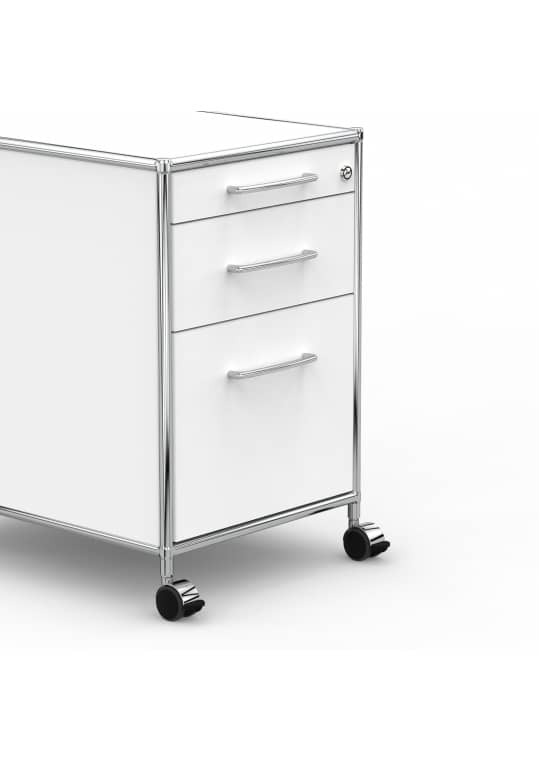 rollcontainer 80cm hg ahr weiss kaufen versee. Black Bedroom Furniture Sets. Home Design Ideas