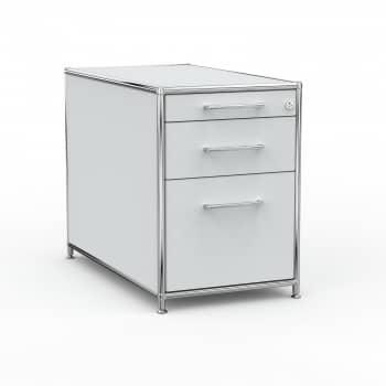 Standcontainer - Design 80cm - Hängeregistratur (ASF) - Holz - Dekor Lichtgrau